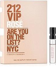 Духи, Парфюмерия, косметика Carolina Herrera 212 Vip Rose - Парфюмированная вода (пробник)