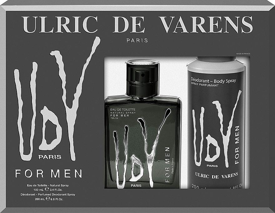 Ulric de Varens UDV - Набор (edt/100ml+deo/200ml)