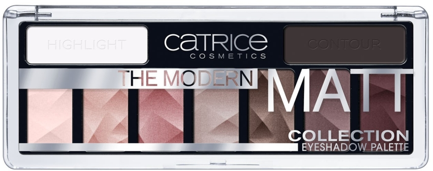 Палетка теней - Catrice The Modern Matt Collection Eyeshadow Palette