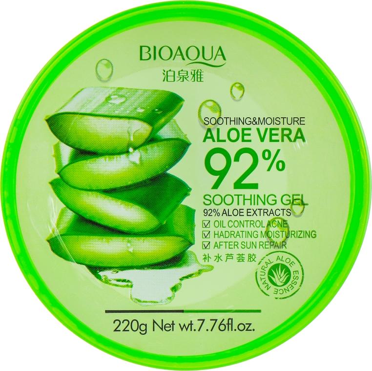 Гель для лица и тела - Bioaqua Aloe Vera 92% Soothing Gel