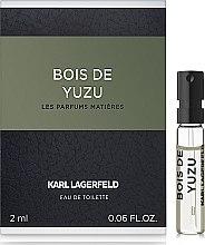 Духи, Парфюмерия, косметика Karl Lagerfeld bois De Yuzu - Туалетная вода (пробник)