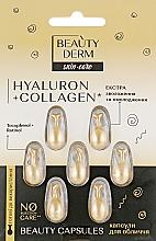 Духи, Парфюмерия, косметика Капсулы для лица - Beauty Derm Hyaluron + Collagen Beauty Capsules