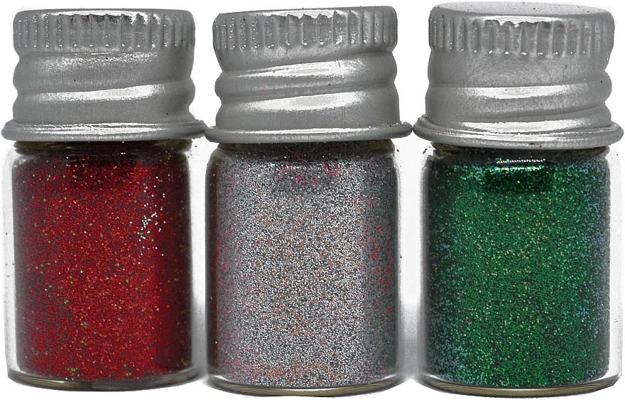 Набор глиттеров для дизайна ногтей - Frau Schein Glitter