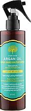 """Парфумерія, косметика Спрей для укладання волосся """"Арганова олія"""" - Char Char Argan Oil Super Hard Water Spray"""