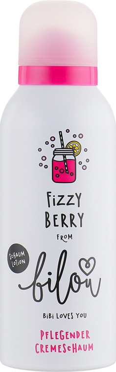 Лосьон-пенка для тела - Bilou Fizzy Berry Cream Foam