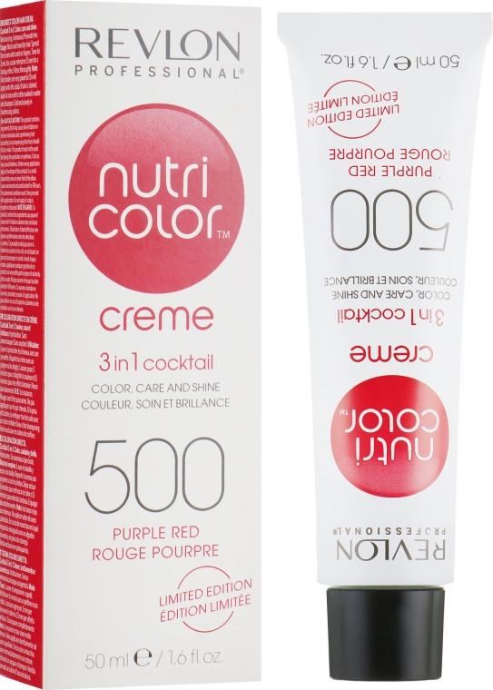 Тонирующий бальзам 3 в 1 - Revlon Professional Nutri Color 3 in 1 Creme Limited Edition