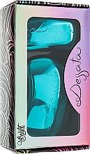 Духи, Парфюмерия, косметика Набор щеток для волос - Dessata Bright Turquoise Duo Pack