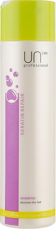 Шампунь восстанавливающий с кератином - UNi.tec Professional Keratin Repair Shampoo
