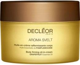 Духи, Парфюмерия, косметика Масло укрепляющее кремовое для тела - Decleor Aroma Svelt Firming Body Cream