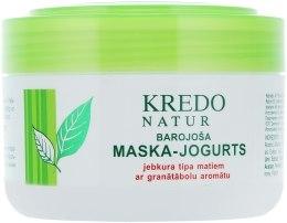 Духи, Парфюмерия, косметика Питательная маска-йогурт с ароматом граната - Dzintars Kredo Natur Mask
