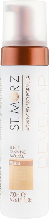 Мусс-автозагар 5в1 - St.Moriz 5in1 Tanning Mousse Medium