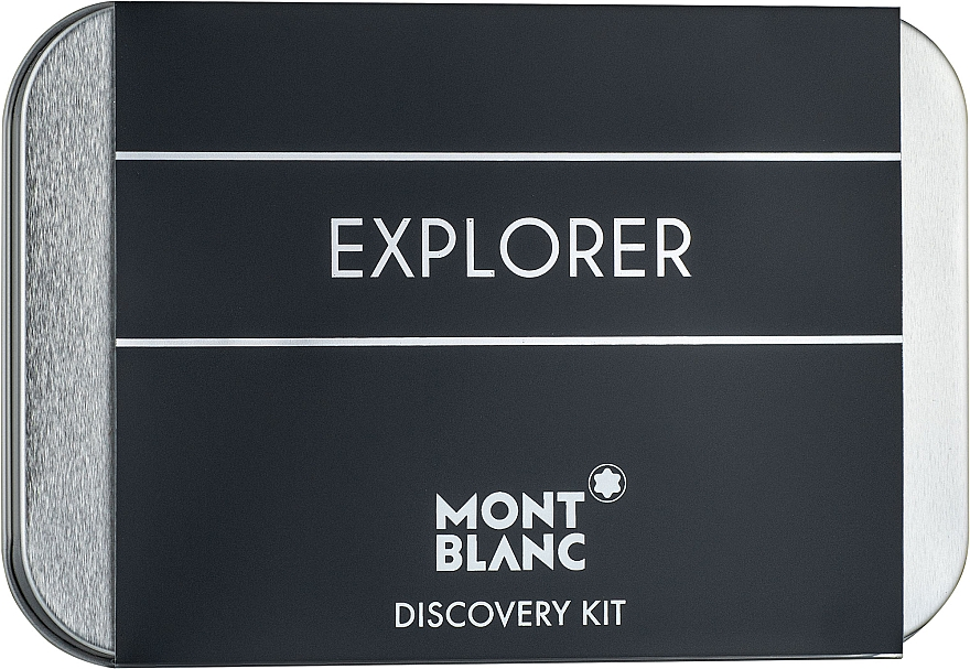 Montblanc Explorer - Набор (edp/7.5ml+as/balm/30ml+sh/gel/30ml)