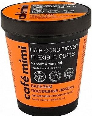 """Бальзам """"Послушные локоны"""" для кудрявых и вьющихся волос - Cafe Mimi Hair Conditione Flexible Curls"""