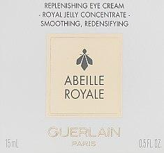 Духи, Парфюмерия, косметика Восстанавливающий крем для области вокруг глаз - Guerlain Abeille Royale Reconstituante Eye Care