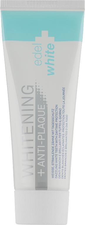 "Зубная паста ""Анти-налет+Отбеливание"" - Edel+White Anti-plaque+Whitening"