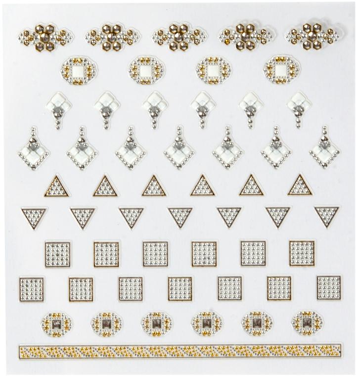 Наклейки для дизайна ногтей - Peggy Sage DecorativeNail Stickers Jewels