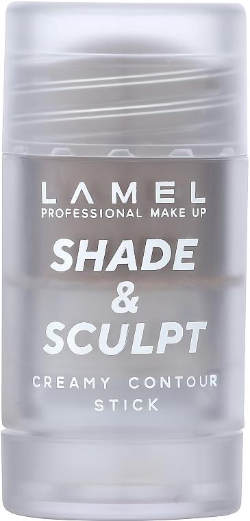 Кремовый контур для лица - Lamel Professional Creamy Contour Shade & Sculpt Stick