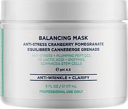 Духи, Парфюмерия, косметика Антистрессовая маска с клюквой и гранатом - HydroPeptide Balancing Mask