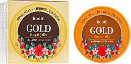 Духи, Парфюмерия, косметика Гидрогелевые патчи для глаз с золотом и маточным молочком - Petitfee&Koelf Gold & Royal Jelly Eye Patch