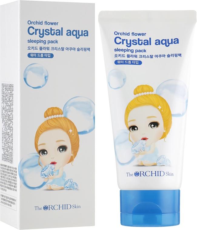 Увлажняющая ночная маска для лица - The Orchid Skin Orchid Crystal Aqua Sleeping Pack