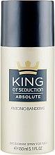 Духи, Парфюмерия, косметика Antonio Banderas King of Seduction Absolute Deodorant Spray - Дезодорант спрей