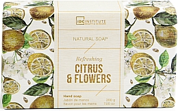 Духи, Парфюмерия, косметика Мыло - IDC Institute Refreshing Hand Natural Soap Citrus & Flowers
