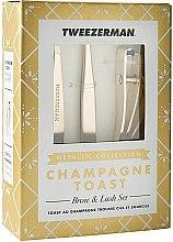 Духи, Парфюмерия, косметика Набор для бровей и ресниц - Tweezerman Champagne Toast Brow & Lash Set