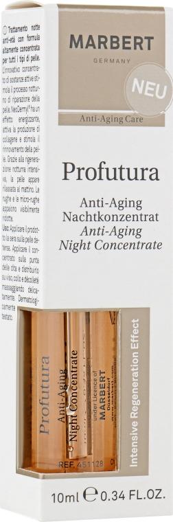 Антивозрастные ампулы для лица - Marbert Profutura Anti-Aging Night Concentrate