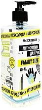 Парфумерія, косметика Антисептик для рук - Mr.Scrubber #Stopcorona Family Size Antiseptic