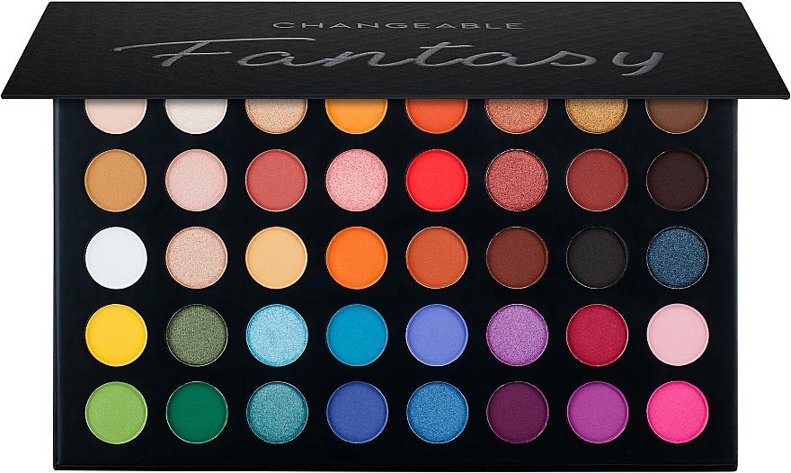 Палетка теней для век, 40 оттенков - Ucanbe Fantasy Changeable Eyeshadow Palette