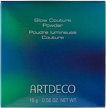 Духи, Парфюмерия, косметика Пудра для лица - Artdeco Glow Couture Powder