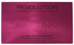 Палетка теней для век, 32 оттенка - Makeup Revolution Ultra 32 Shade Palette Flawless 2 — фото N3
