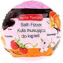 Духи, Парфюмерия, косметика Бурлящий шарик для ванны, розовый - Belle Nature