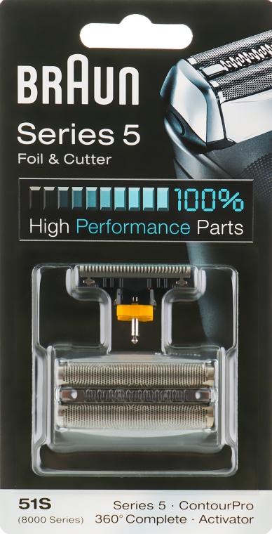 Бреющая сетка и режущий блок - Braun Series 5 51S