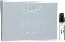 Духи, Парфюмерия, косметика Creed Love in Black - Туалетная вода (пробник)