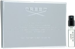 Парфумерія, косметика Creed Love in Black - Туалетна вода (пробник)