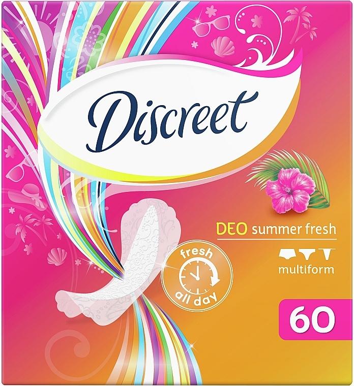 Ежедневные гигиенические прокладки Summer Fresh, 60 шт - Discreet — фото N3
