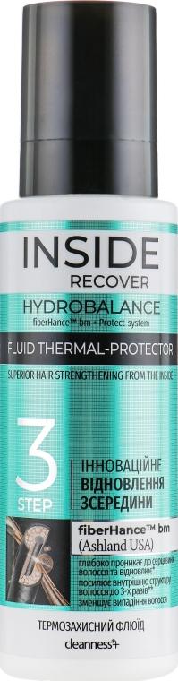 Термозащитный флюид для волос - Inside Recover Cleanness+ Hydrobalance Fluid
