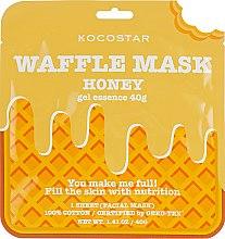 """Духи, Парфюмерия, косметика Питательная вафельная маска """"Медовое удовольствие"""" - Kocostar Honey Waffle Mask"""