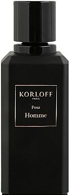 Korloff Paris Pour Homme - Парфюмированная вода (тестер с крышечкой)