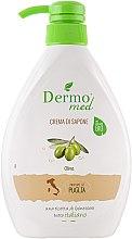 "Духи, Парфюмерия, косметика Крем-мыло ""Олива"" - Dermomed Oliva Cream Soap"