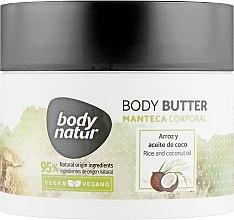 Духи, Парфюмерия, косметика Баттер для тела с рисом и кокосом - Body Natur Rice and Coconut Oil Body Butter