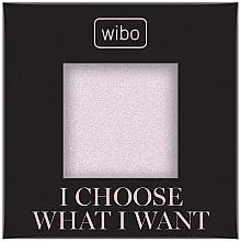 Духи, Парфюмерия, косметика Пудра-хайлайтер для лица - Wibo I Choose What I Want Shimmer (сменный блок)