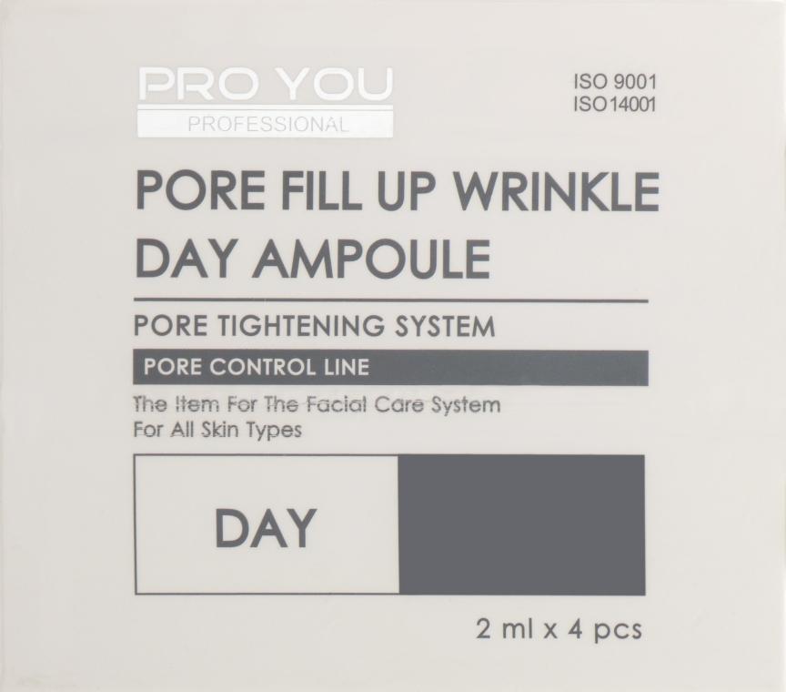 Ампулы с концентратом для сужения пор - Pro You Professional Pore Fill Up Wrinkle Day & Night Ampoule Dual Set