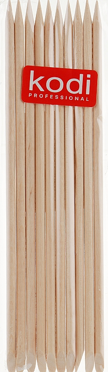 Апельсиновые палочки для маникюра, 10шт. - Kodi Professional Orange sticks 15cm