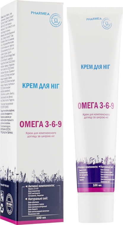 Крем для ног - Pharmea Omega 3-6-9
