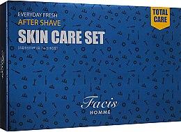 Духи, Парфюмерия, косметика Набор для мужчин увлажняющий - Daandanbit Facis Homme Everyday Fresh Skin Care 2 Set (f/emulsion/160 ml + f/emulsion/30ml + f/toner/160ml + f/toner/30ml)
