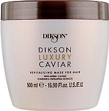 Духи, Парфюмерия, косметика Ревитализирующая маска-концентрат - Dikson Luxury Caviar Revitalizing Mask