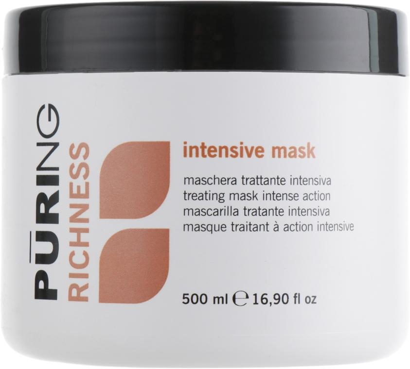 Маска для волос интенсивного действия - Puring Richness Intensive Mask