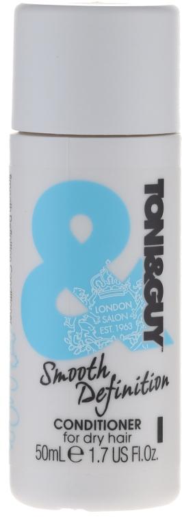 Кондиционер для сухих волос - Toni & Guy Smooth Definition Conditioner for Dry Hair — фото N1
